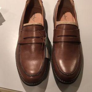 Jambu mens leather penny loafers size 8